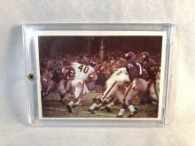 1966 Philadelphia Bears vs Giants #39 - Gale Sayers on card - Rookie