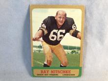 1963 Topps Ray Nitschke #96 Rookie Card