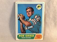 1968 Topps Bob Griese #196 Rookie Card