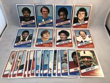 1976 Topps Football Wonder Bread All Stars Complete 26 card set - Franco Harris