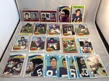 Lot of 1970's Topps Minnesota Vikings Cards