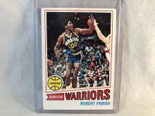 1977-78 Topps Robert Parish #111 Rookie Card