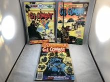 G.I. Combat #183, 196, 204 - The Haunted Tank Issues