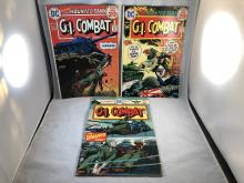 G.I. Combat #172, 174, 181 - The Haunted Tank Issues