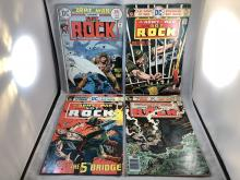 Our Army At War #282, 283, 287, 296 - Sgt. Rock