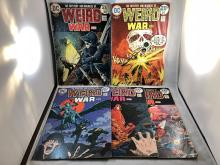 Weird War Tales #21, 22, 23, 24, 25
