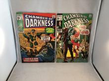 Chamber of Darkness #5 & 8 - #8 is Bernie Wrightson cover