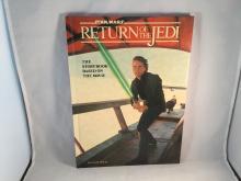 1983 Random House Star Wars Return of the Jedi Hardback Storybook - Signed on the inside by Billy Dee Williams (Lando Calrissian), Jeremy Bulloch (Boba Fett) and Corey Dee Williams (Klaatu) - COA for Billy Dee autograph