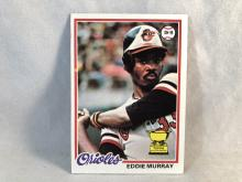 1978 Topps Eddie Murray #36 Rookie Card