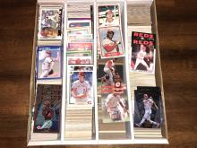 3200 Count Monster Box of Baseball Cards - All Cincinnati Reds - Barry Larkin, Dave Concepcion, Ken Griffey, Tom Browning, Sean Casey