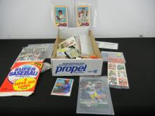Box Lot of Assorted Sports Cards and Collectibles