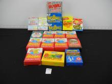 Lot of Assorted Small Box Set - Baseball/Basketball