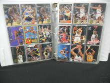 Album of Assorted Basketball/Football Cards