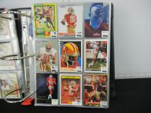 Album of Assorted Football Cards - Lots of Stars and Rookies