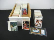 Shoebox Full of Assorted Sports Cards