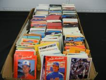 Box Lot of Assorted Baseball Cards