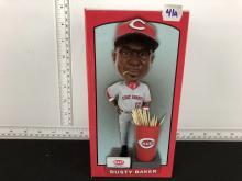 Dusty Baker Cincinnati Reds SGA Bobblehead