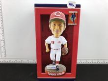 Tommy Helms Cincinnati Reds Hall of Fame SGA Bobblehead