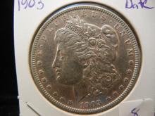 1903 Morgan Dollar.  Tougher Date.  Luster.