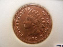 1882 Indian Head Cent 3  Diamonds