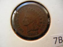 3 Indian Head Cents 1903, 2 - 1905
