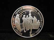 History of America George Washington Comm. Coin