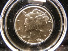1944 Mercury Dime MS+ Choice