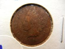 1876 indian head penny key date books for $40 in good condition