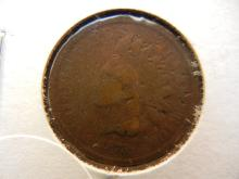 1872 indian head penny key date. This coin books for $90 in good condition