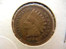 1862 indian head penny cn. This one is copper nickel alloy