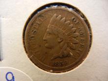 1859 copper nickelIndian Head Penny full liberty