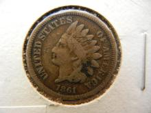 1861 indian Head Penny Copper nickel