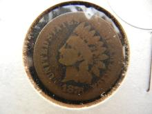 104. 1876 indian head penny key date. Book value $40