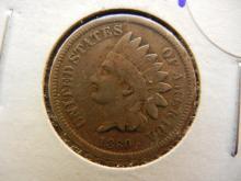 125. 1860 indian Head Penny copper nickel.