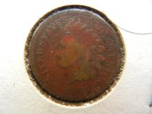 127. 1866 Indian Head Penny semi key date . Books for $50 in G4