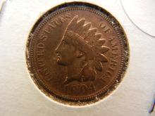 High Grade 1904 Indian Head Penny
