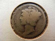 1921 Mercury Dime Key Date
