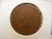 191. 1875 Semi key date Indian Head Penny.