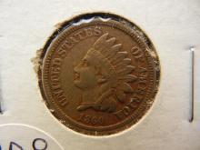 208. 1860 Indian Head Penny full liberty