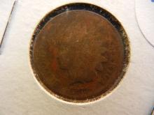 221 1873 Indian Head Penny semi key date