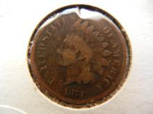 243. 1873 Indian Head Penny semi key date