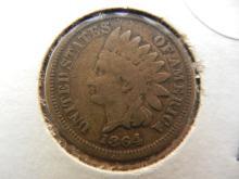 246. 1864 Indian Head Penny Copper nickel