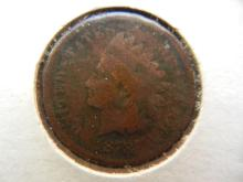 269. 1878 Indian Head Penny Better date