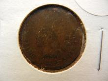 322. 1864 L indian head penny. This coin books for $50 in good condition.