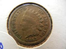350. 1863 Indian Head Penny