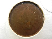 1876 Indian Head Penny key date . Book value $50 in good condition.