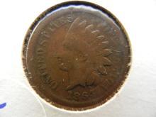 1864 Bronze Indian Head Penny