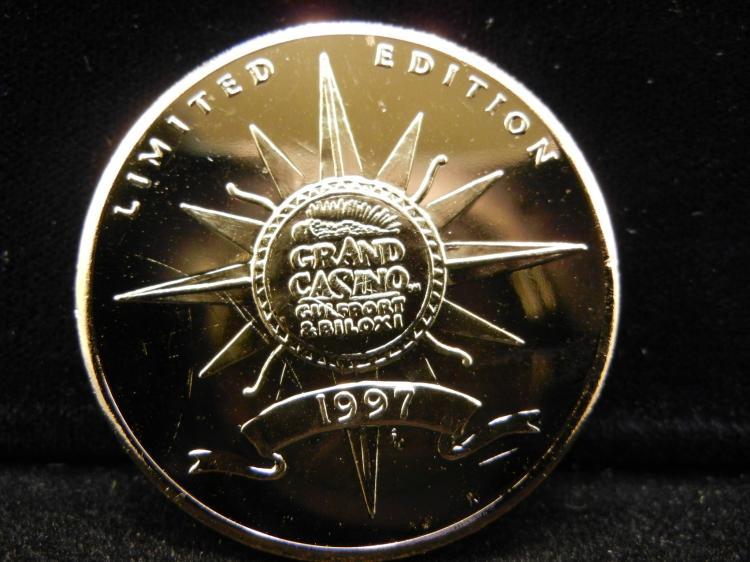 grand casino collector coin gulf coast series
