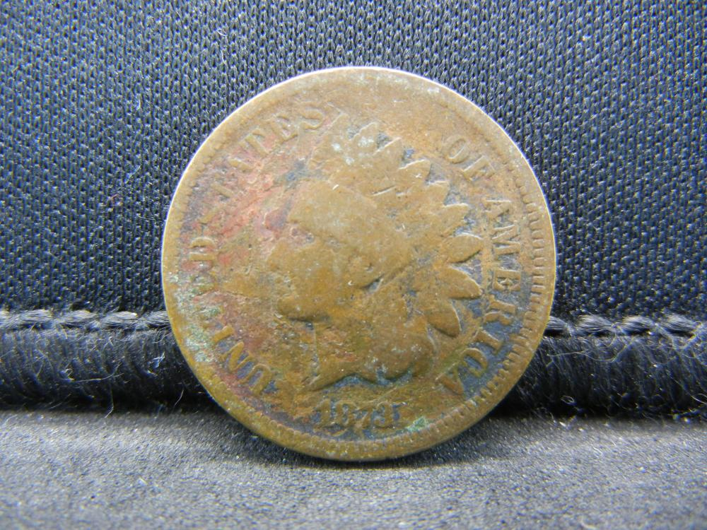 1873 Indian Head Cent.