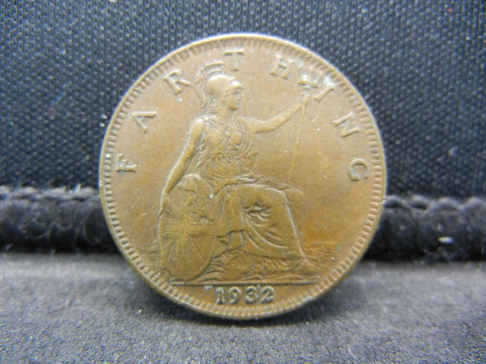 1932 Great Britain One Farthing.